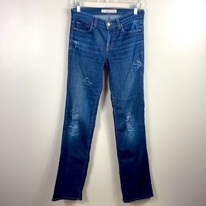 J Brand Distressed The Straight Leg Jeans size 26